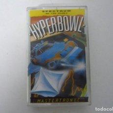 Videojuegos y Consolas: HYPERBOWL / SINCLAIR ZX SPECTRUM / RETRO VINTAGE / CASSETTE. Lote 269704698