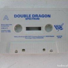 Videojuegos y Consolas: DOUBLE DRAGON / SOLO CINTA / SINCLAIR ZX SPECTRUM / RETRO VINTAGE / CASSETTE. Lote 269850818
