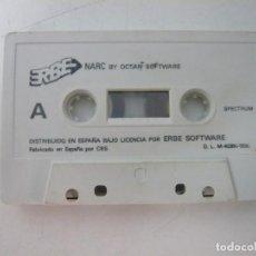 Videojuegos y Consolas: NARC / SOLO CINTA / SINCLAIR ZX SPECTRUM / RETRO VINTAGE / CASSETTE. Lote 269850853