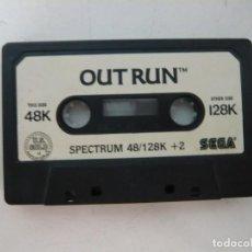 Videojuegos y Consolas: OUT RUN / SOLO CINTA / SINCLAIR ZX SPECTRUM / RETRO VINTAGE / CASSETTE. Lote 269850893