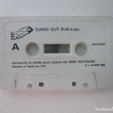 Videojuegos y Consolas: TURBO OUT RUN / SOLO CINTA / SINCLAIR ZX SPECTRUM / RETRO VINTAGE / CASSETTE. Lote 269851043