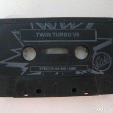Videojuegos y Consolas: TWIN TURBO 8 / SOLO CINTA / SINCLAIR ZX SPECTRUM / RETRO VINTAGE / CASSETTE. Lote 269851063