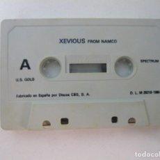 Videojuegos y Consolas: XEVIOUS / SOLO CINTA / SINCLAIR ZX SPECTRUM / RETRO VINTAGE / CASSETTE. Lote 269851103