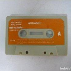 Videojuegos y Consolas: AQUASKI / SOLO CINTA / SINCLAIR ZX SPECTRUM / RETRO VINTAGE / CASSETTE. Lote 269851153