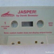 Videojuegos y Consolas: JASPER / SOLO CINTA / SINCLAIR ZX SPECTRUM / RETRO VINTAGE / CASSETTE. Lote 269851258