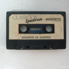 Videojuegos y Consolas: JUGADOR DE AJEDREZ / SOLO CINTA / SINCLAIR ZX SPECTRUM / RETRO VINTAGE / CASSETTE. Lote 269851273