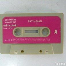 Videojuegos y Consolas: PATIN-MAN / SOLO CINTA / SINCLAIR ZX SPECTRUM / RETRO VINTAGE / CASSETTE. Lote 269851363