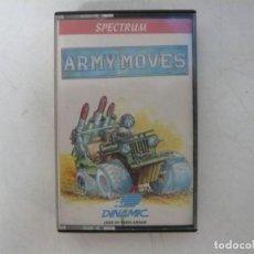 Videojuegos y Consolas: ARMY MOVES / SINCLAIR ZX SPECTRUM / RETRO VINTAGE / CASSETTE. Lote 269995423