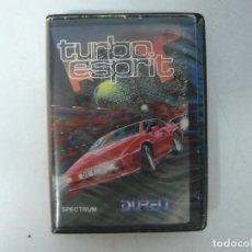Videojuegos y Consolas: TURBO ESPIRIT / SINCLAIR ZX SPECTRUM / RETRO VINTAGE / CASSETTE. Lote 269996778