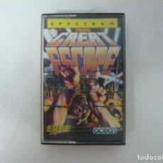 Videojuegos y Consolas: THE GREAT ESCAPE / SINCLAIR ZX SPECTRUM / RETRO VINTAGE / CASSETTE. Lote 269998533
