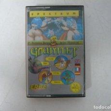 Videojuegos y Consolas: GAUNTLET / SINCLAIR ZX SPECTRUM / RETRO VINTAGE / CASSETTE. Lote 269998553