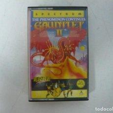 Videojuegos y Consolas: GAUNTLET 2 / SINCLAIR ZX SPECTRUM / RETRO VINTAGE / CASSETTE. Lote 269998568