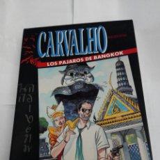 Videojuegos y Consolas: CARVALHO LOS PÁJAROS DE BANGKOK DINAMIC SPECTRUM +3 DISCO. Lote 270971023