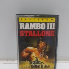 Videojuegos y Consolas: JUEGO RAMBO III SPECTRUM. Lote 275649168