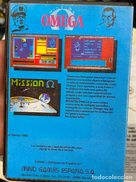 Videojuegos y Consolas: omega - rareza de mind games españa - estuche de plastico - completo con manual - SPECTRUM - Foto 2 - 276073973