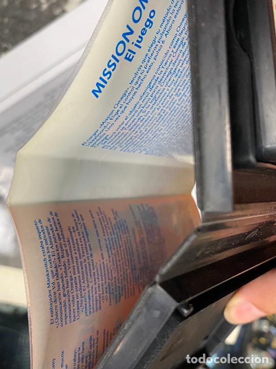 Videojuegos y Consolas: omega - rareza de mind games españa - estuche de plastico - completo con manual - SPECTRUM - Foto 4 - 276073973