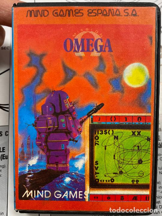 OMEGA - RAREZA DE MIND GAMES ESPAÑA - ESTUCHE DE PLASTICO - COMPLETO CON MANUAL - SPECTRUM (Juguetes - Videojuegos y Consolas - Spectrum)