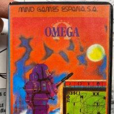 Videojuegos y Consolas: OMEGA - RAREZA DE MIND GAMES ESPAÑA - ESTUCHE DE PLASTICO - COMPLETO CON MANUAL - SPECTRUM. Lote 276073973