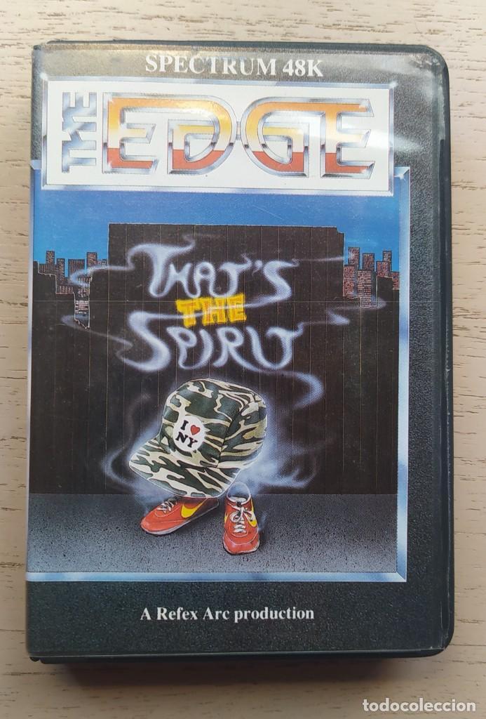 VIDEOJUEGO SPECTRUM THATS THE SPIRIT (VERSIÓN UK). TAGS: AÑOS 80, SINCLAIR, AMSTRAD, MSX, COMMODORE (Juguetes - Videojuegos y Consolas - Spectrum)
