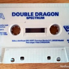 Jeux Vidéo et Consoles: JUEGO EN CINTA CASETE SPECTRUM DOUBLE DRAGON DRO SIN TESTEAR SIN CAJA. Lote 276147918