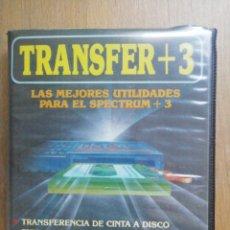 Videojuegos y Consolas: TRANSFER +3 SPECTRUM DISCO TOPO. Lote 276703663