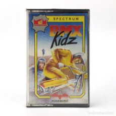 Videojuegos y Consolas: BMX KIDZ PRECINTADO MCM ESPAÑA LOMO BLANCO/ROSA FIREBIRD JUEGO CARRERA SINCLAIR ZX SPECTRUM CASSETTE. Lote 277296193