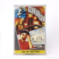 Videojuegos y Consolas: CONFUSION PRECINTADO SYSTEM 4 ESPAÑA INCENTIVE SOFTWARE 1988 CONFUZION SINCLAIR ZX SPECTRUM CASSETTE. Lote 277296583