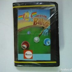 Jeux Vidéo et Consoles: AMERICAN BILLIARDS / ESTUCHE / SINCLAIR ZX SPECTRUM / RETRO VINTAGE / CASSETTE - CINTA. Lote 279147388