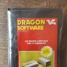 Videojuegos y Consolas: LAS MEJORES SUBRUTINAS PARA TU ORDENADOR - SPECTRUM DRAGON SOFTWARE.. Lote 285088383