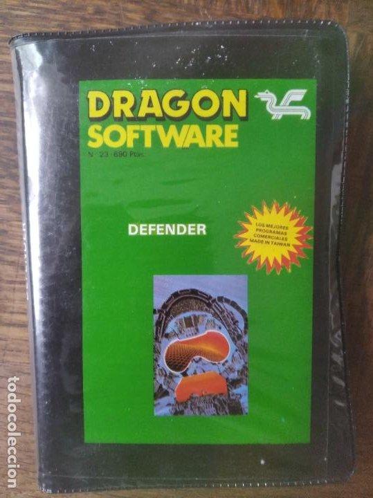 DEFENDER - SPECTRUM DRAGON SOFTWARE. (Juguetes - Videojuegos y Consolas - Spectrum)