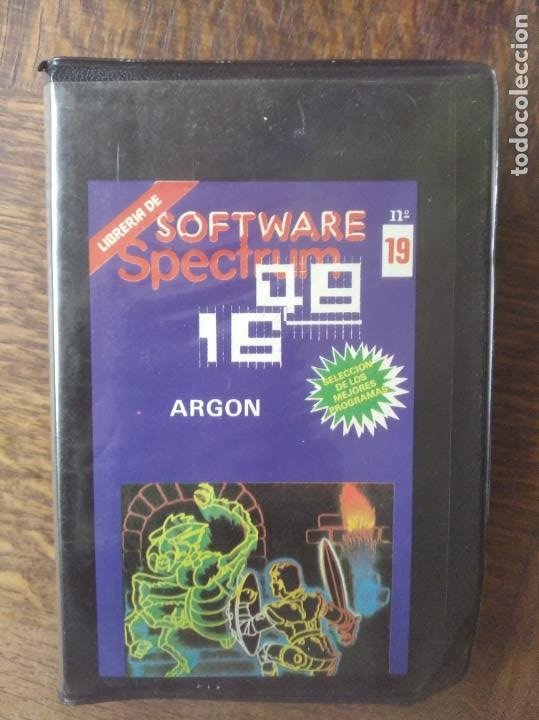 ARGON - SPECTRUM SOFTWARE. (Juguetes - Videojuegos y Consolas - Spectrum)