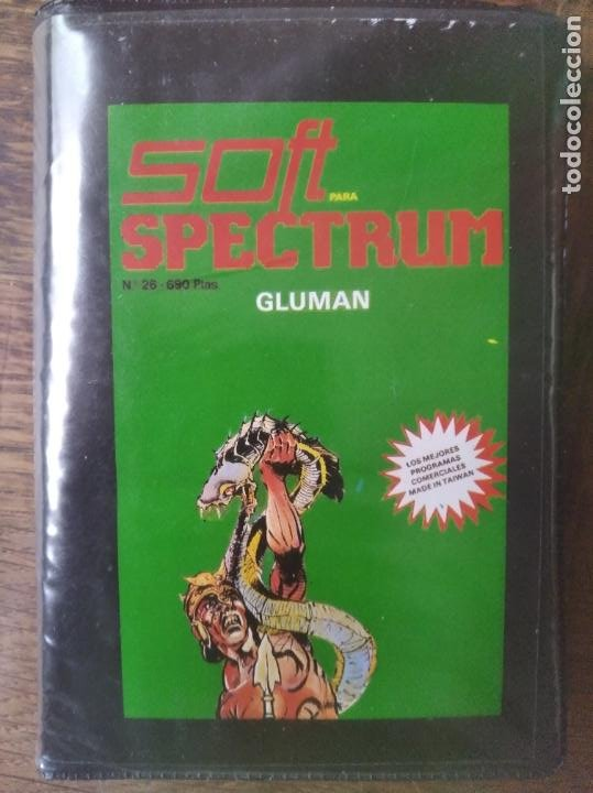 GLUMAN - SPECTRUM SOFTWARE. (Juguetes - Videojuegos y Consolas - Spectrum)