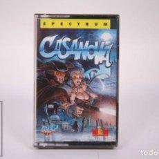 Videogiochi e Consoli: CASETE VIDEOJUEGO SPECTRUM - CASANOVA - MCM SOFTWARE - ICER - CASSETTE PRECINTADO FABRICA. Lote 286271273