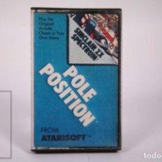 Videogiochi e Consoli: VIDEOJUEGO RETRO CASETE SPECTRUM - POLE POSITION - ATARISOFT 1982 - CASSETTE. Lote 286460233