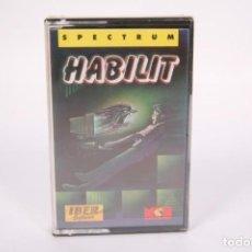 Videogiochi e Consoli: VIDEOJUEGO RETRO CASETE SPECTRUM - HABILIT - MCM IBER SOFTWARE - PRECINTADO FÁBRICA - CASSETTE. Lote 286660513