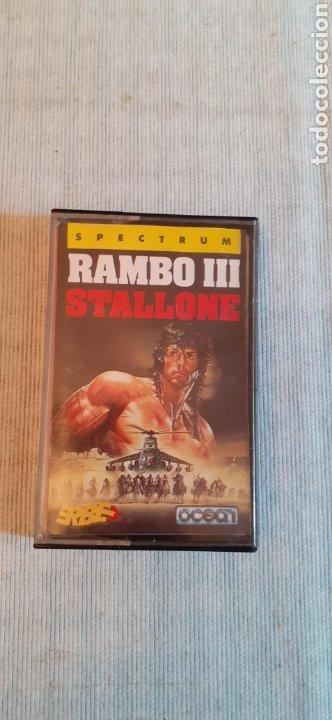 RAMBO III,1988 (Juguetes - Videojuegos y Consolas - Spectrum)
