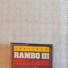 Videojuegos y Consolas: RAMBO III,1988. Lote 288562178