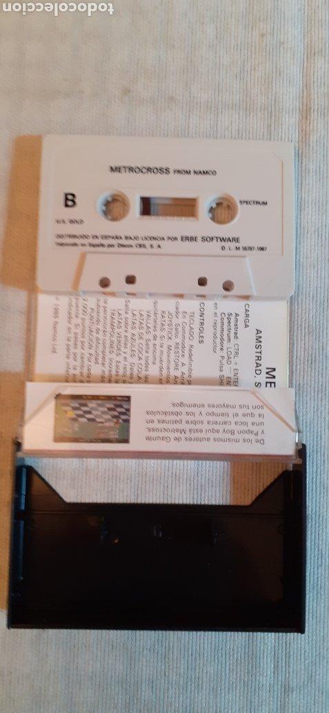 Videojuegos y Consolas: METROCROSS, 1987 - Foto 3 - 288562808