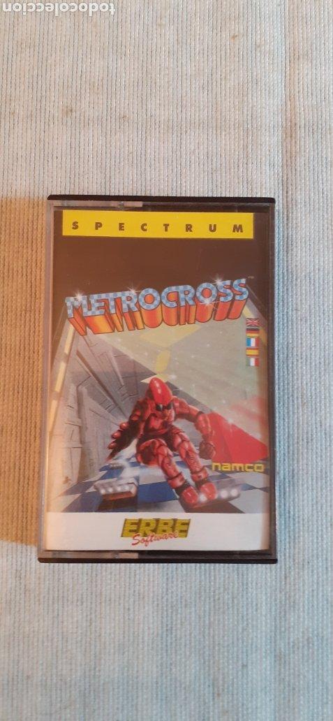 METROCROSS, 1987 (Juguetes - Videojuegos y Consolas - Spectrum)