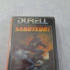 Videojuegos y Consolas: ESTUCHE DEL JUEGO SABOTEUR! - SPECTRUM - ERBE SOFTWARE - DURELL. Lote 288563613