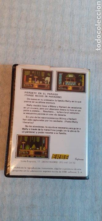 Videojuegos y Consolas: THREE WEEKS IN PARADISE, 1986 - Foto 2 - 288564598