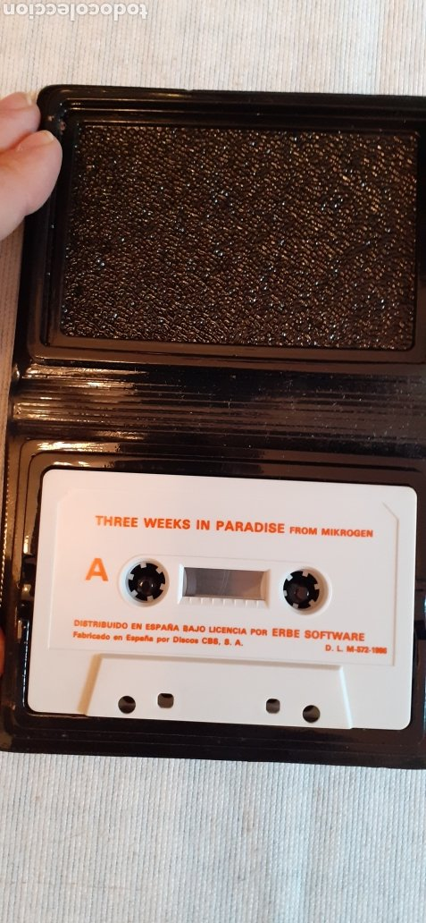 Videojuegos y Consolas: THREE WEEKS IN PARADISE, 1986 - Foto 3 - 288564598