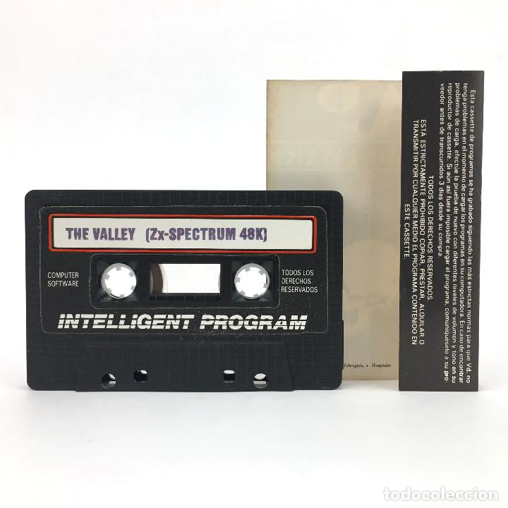 Videojuegos y Consolas: THE VALLEY / LA VALLE Edicion Española AVENTURA RPG ASP SOFTWARE 1982 48K SINCLAIR SPECTRUM CASSETTE - Foto 2 - 288565593
