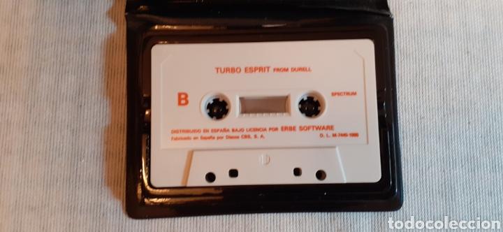 Videojuegos y Consolas: TURBO ESPRIT, 1986 - Foto 3 - 288566363