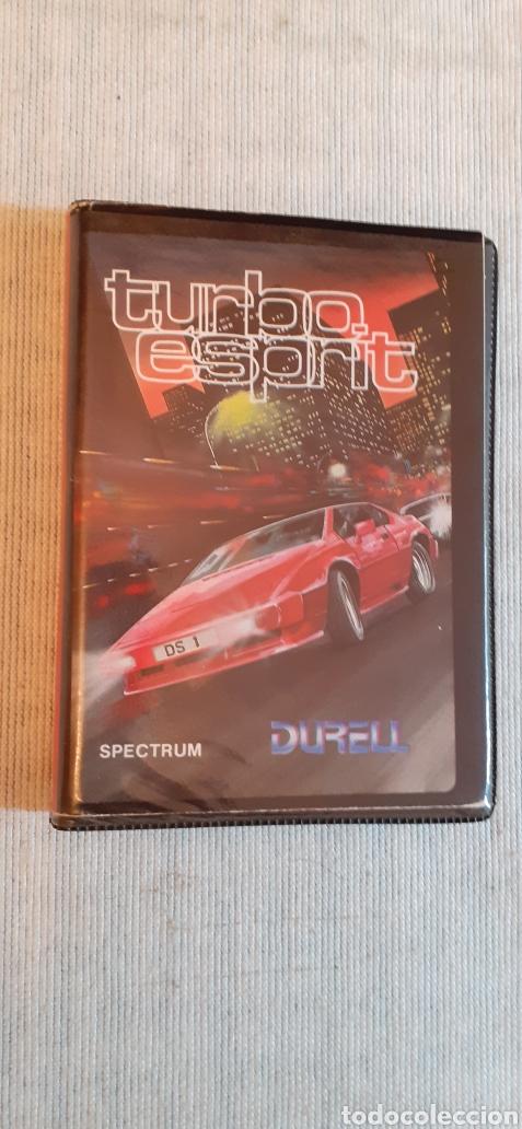 TURBO ESPRIT, 1986 (Juguetes - Videojuegos y Consolas - Spectrum)