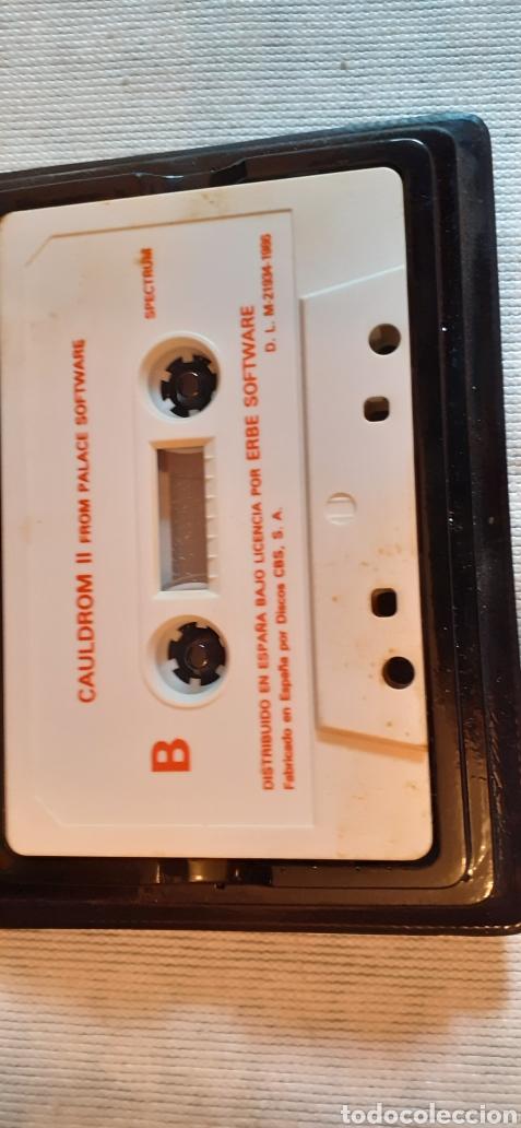 Videojuegos y Consolas: CAULDRON-II, La Calabaza Contraataca,1986 - Foto 3 - 288567523