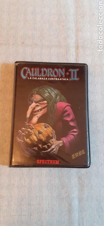 CAULDRON-II, LA CALABAZA CONTRAATACA,1986 (Juguetes - Videojuegos y Consolas - Spectrum)