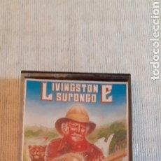 Videojuegos y Consolas: LIVINGSTONE SUPONGO,MUY DIFÍCIL,1986. Lote 288569243