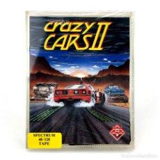 Videojuegos y Consolas: CRAZY CARS II PRECINTADO TITUS SOFTWARE 1987 RACE GAME CARRERA COCHES SINCLAIR ZX SPECTRUM CASSETTE. Lote 288586863