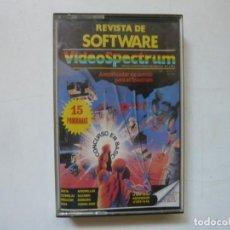 Videojuegos y Consolas: VIDEOSPECTRUM Nº 3 / SPECTRUM / SINCLAIR ZX SPECTRUM / RETRO VINTAGE / CASSETTE. Lote 288974463